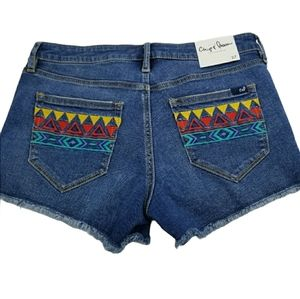 NEW-Chip and Pepper Jean Shorts